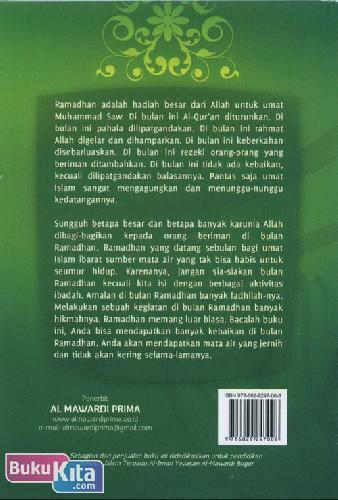 Cover Belakang Buku Mata Air Ramadhan