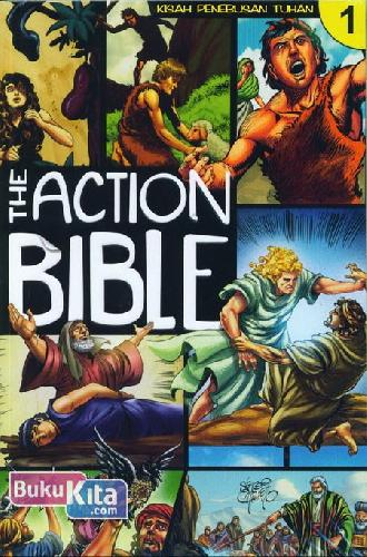 Cover Buku The Action Bible 1 (Kisah Penebusan Tuhan)