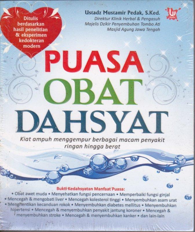 Cover Buku Puasa obat Dahsyat (Disc 50%)