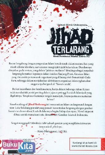 Cover Belakang Buku Jihad Terlarang (Kisah Pertobatan Mantan Aktivis NII)