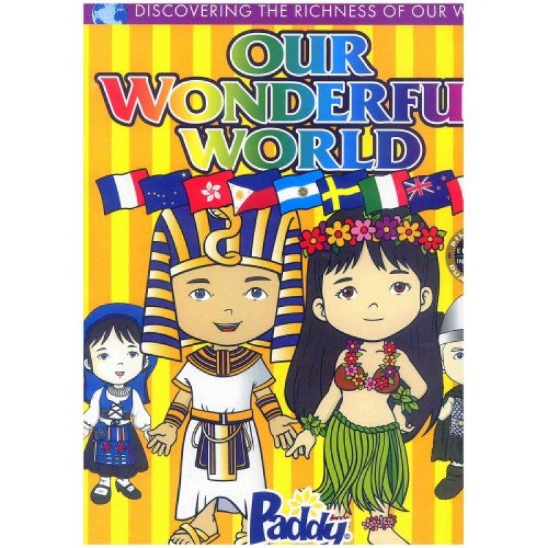 Cover Buku Our Wonderful World - Ajaibnya Duniaku