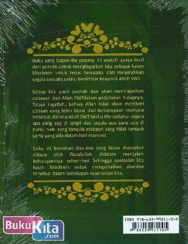 Cover Belakang Buku Doa & Dzikir Sehari-Hari