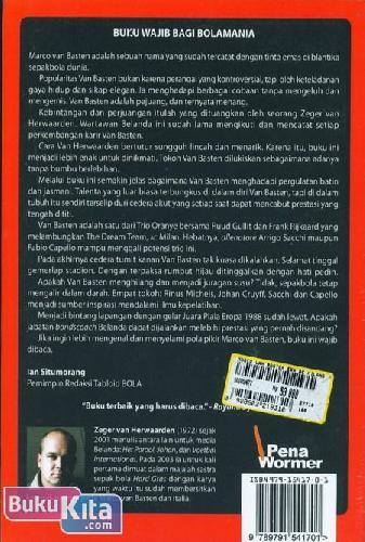 Cover Belakang Buku Marco van Basten : Era ac Milan dan Oranye