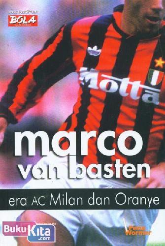 Cover Buku Marco van Basten : Era ac Milan dan Oranye