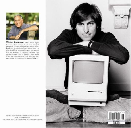 Cover Belakang Buku Steve Jobs