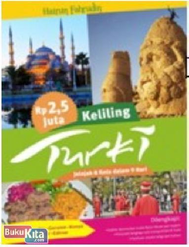 Cover Buku Rp. 2.5 Jutaan Keliling Turki