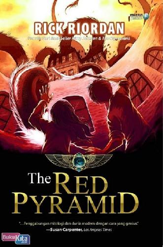 Cover Buku The Kane Chronicles 1 : The Red Pyramid