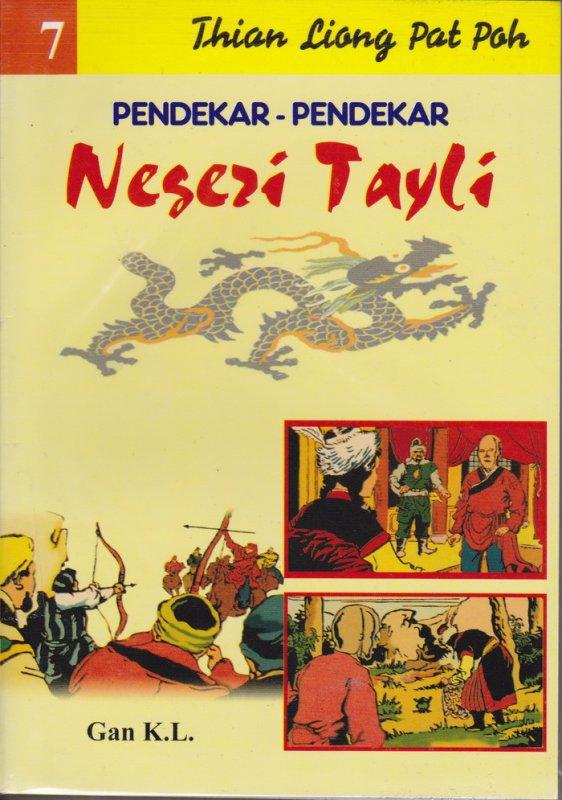 Cover Buku Pendekar-Pendekar Negeri Tayli #7