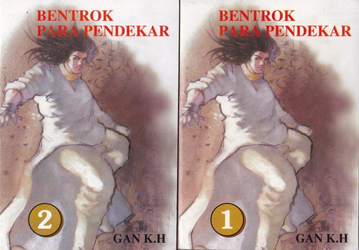 Cover Buku Bentrok Para Pendekar #1-2