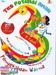 Tes Potensi Anak : Pengetahuan Warna (Full Picture & Full Color)