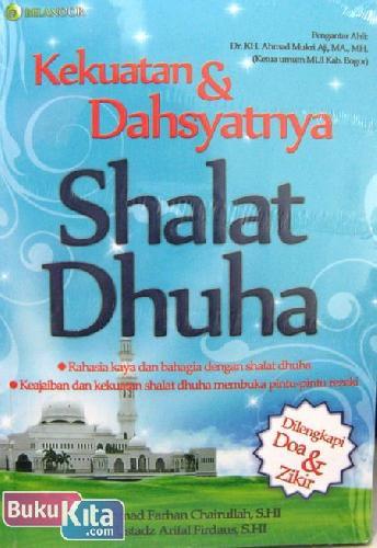 Cover Buku Kekuatan & Dahsyatnya Shalat Dhuha