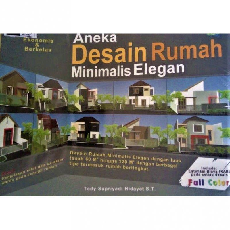 Cover Buku Aneka Desain Rumah Minimalis Elegan