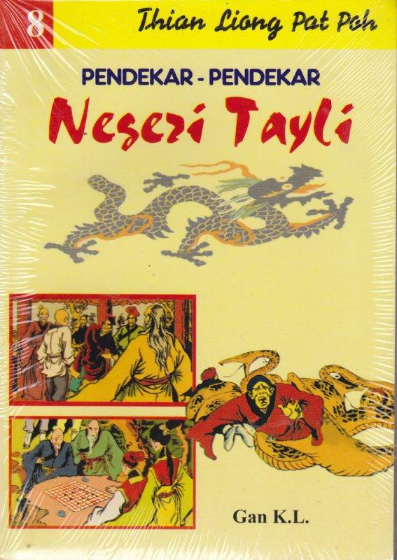 Cover Buku Pendekar-Pendekar Negeri Tayli #8