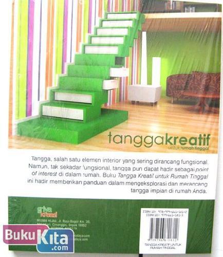 Cover Belakang Buku Tangga Kreatif Untuk Rumah Tinggal