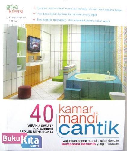 Cover Buku 40 kamar Mandi Cantik