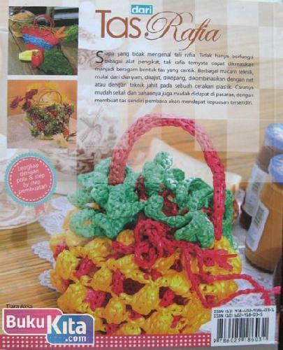 Cover Belakang Buku Tas dari Rafia - 25 Tas Pesta, Casual, dan Trendi