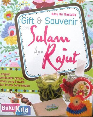 Cover Buku Gift & Souvenir dari Sulam dan Rajut