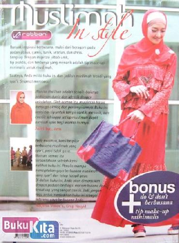 Cover Belakang Buku Muslimah In Style