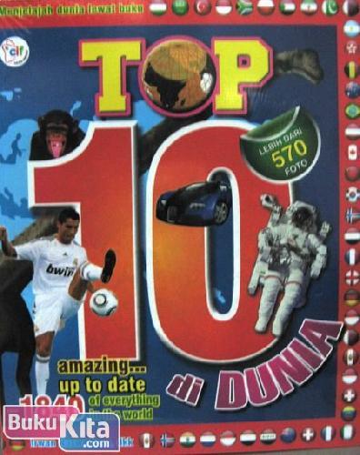 Cover Buku Top 10 di Dunia - Amazing Up to Date