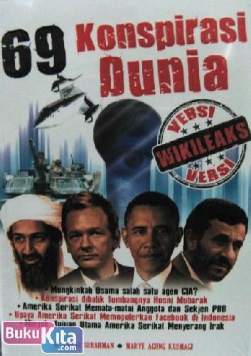 Cover Buku 69 Konspirasi Dunia Versi Wikileaks