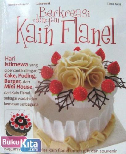 Cover Buku Berkreasi dengan Kain Flanel