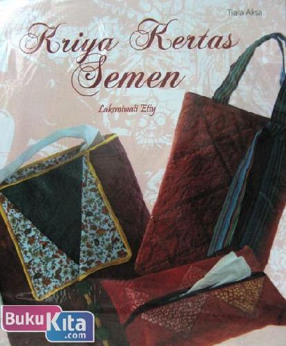 Cover Buku Kriya Kertas Semen