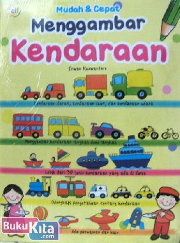 Cover Buku Mudah & Cepat Menggambar Kendaraan