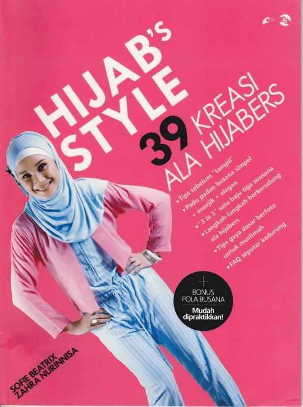 Cover Buku Hijab Style : 39 Kreasi Ala Hijabers