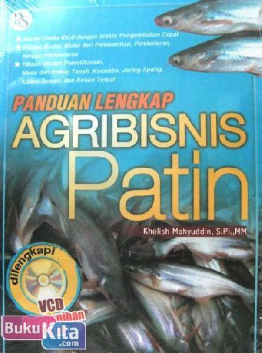 Cover Buku Panduan Lengkap Agribisnis Patin