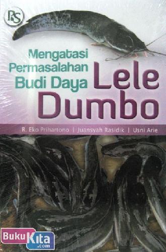 Cover Buku Mengatasi Permasalahan Budi Daya Lele Dumbo