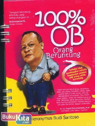 Cover Buku 100% OB - Orang Beruntung