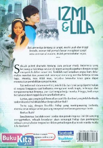 Cover Belakang Buku Izmi & Lila