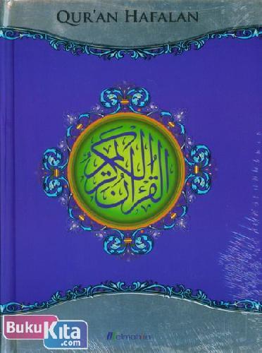 Cover Buku Quran Hafalan Besar biru