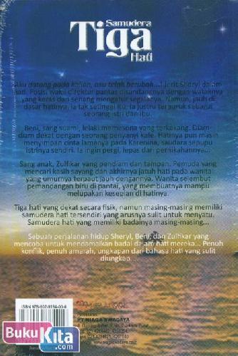 Cover Belakang Buku Samudera Tiga Hati