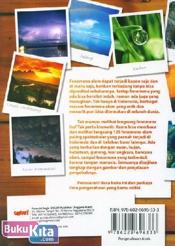 Cover Belakang Buku Fenomena Alam Paling Spektakuler