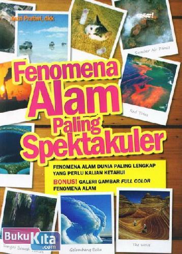 Cover Buku Fenomena Alam Paling Spektakuler
