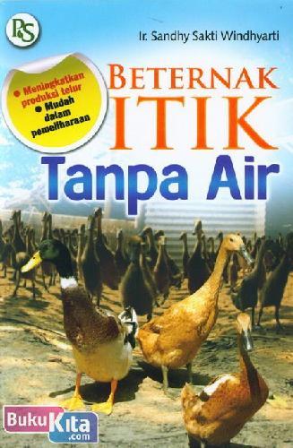 Cover Buku Beternak Itik Tanpa Air - Meningkatkan produksi telur