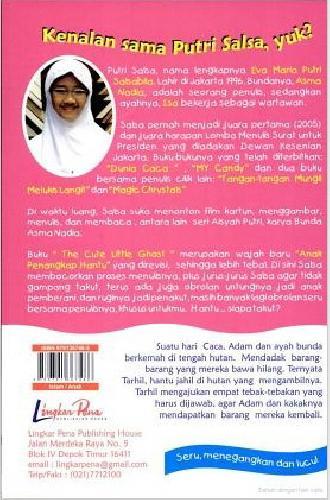 Cover Belakang Buku PCPK : The cute little ghost