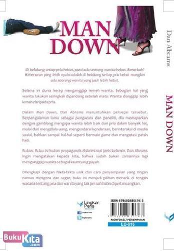 Cover Belakang Buku MAN DOWN