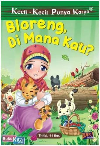 Cover Buku Kkpk : Bloreng. Di Mana Kau?