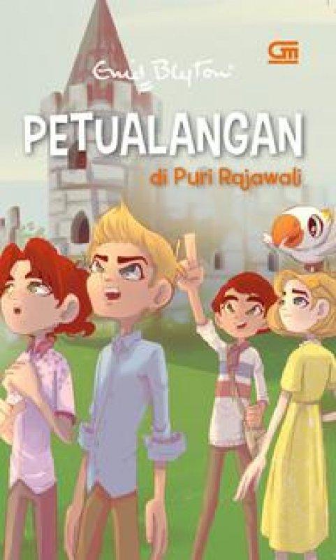 Cover Buku Petualangan di Puri Rajawali (seri petualangan)