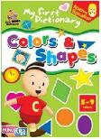 CD My First Dictionary : Colors & Shapes - Native Speaker
