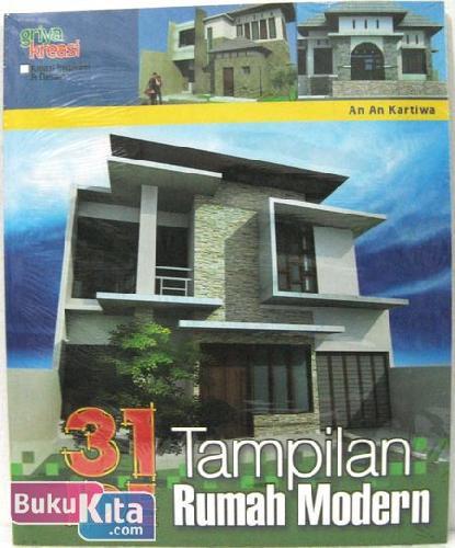 Cover Buku 31 Tampilan Rumah Modern