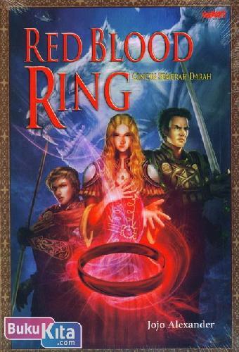 Cover Buku Red Blood Ring - Cincin Semerah Darah