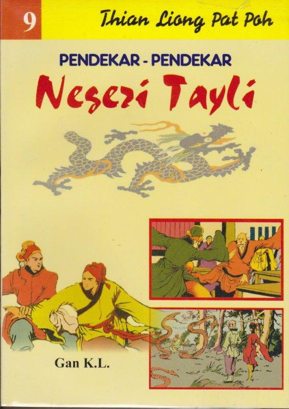 Cover Buku Pendekar-Pendekar Negeri Tayli #9