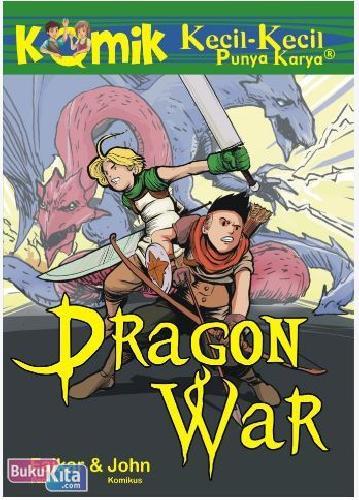 Cover Buku Komik Kkpk : Dragon War
