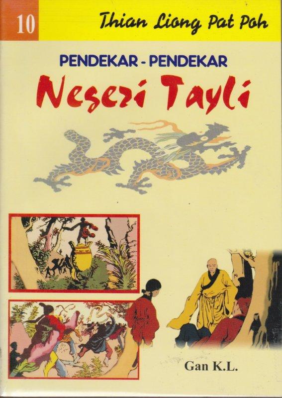 Cover Buku Pendekar-Pendekar Negeri Tayli #10