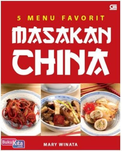 Cover Buku 5 Menu Favorit Masakan China