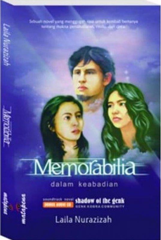 Cover Buku MEMORABILIA dalam Keabadian