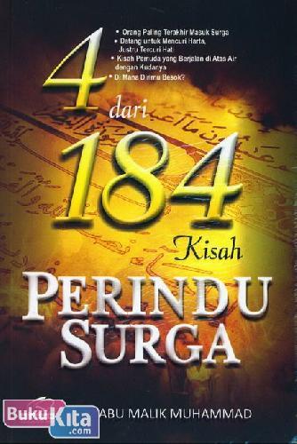 Cover Buku 4 dari 184 Kisah Perindu Surga